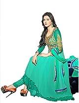 Adah Un-Stitched Georgette,Shatoon  Salwar Kameez -577-38013