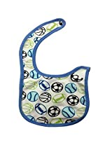 Woosh Baby Velcro Bib(light purple)