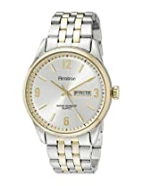 Armitron Men's 20/5049SVTT Day/Date Function Dial Two-Tone Bracelet Watch