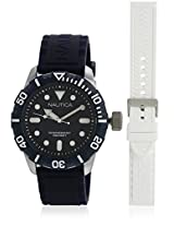 Nta11601G White/Blue Analog Watch