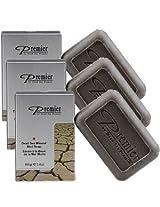 3 pcs, Premier Dead Sea Mineral Mud Soap [Misc.]