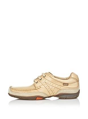 CallagHan Zapatos Casual Cordones (Natural)
