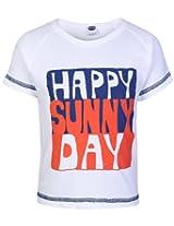 Teddy - Message Print Half Sleeves T Shirt