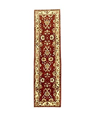 L'Eden del Tappeto Teppich Agra rot/beige 284t x t78 cm