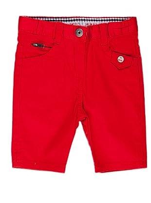 Naf Naf Chevignon Pantalón Corsario (Rojo)
