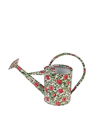 Victoria & Albert Watering Can with Cream & Pink Roses