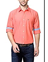 Allen Solly Peach Shirt