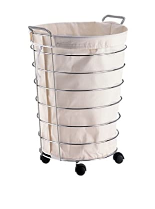Organize It All Jumbo Laundry Basket with Canvas Bag