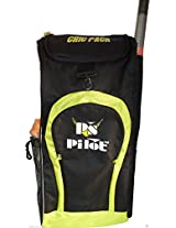 Ps Pilot Cricket bag- Cric Pack, Duffle bag (Black-Floro Parrot)