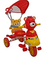 HLX-NMC KIDS TRICYCLE SMART BEAR RED