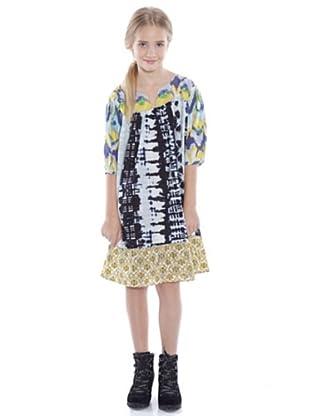 Custo Growing Kleid Belle (Marineblau/Weiß)