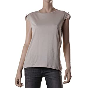 Mango Women Tops 46908659 Beige