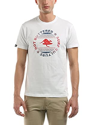 Hot Buttered Camiseta Manga Corta Surf Culture