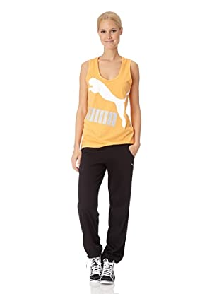 Puma Damen Tank Top Logo (blazing orange)