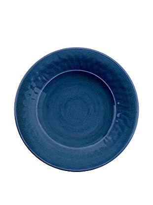Color Wash Melamine Salad Plate, Solid Blue