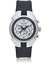 Black/White Chronograph Watches