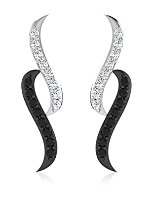 Diamant Vendome 0.11 Cts Diamond Earring In 9Kt White Gold (Gh Color, Pk Clarity) T10853W/9/Ns/B&W White Gold