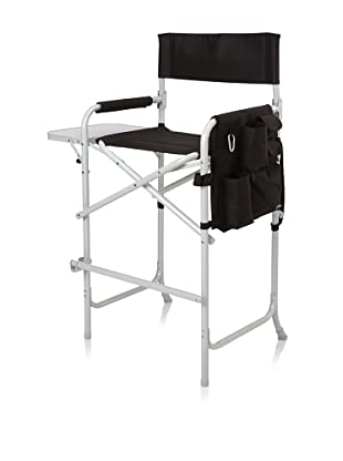 Picnic Time Celebrity Portable Tall Director Chair (Black)