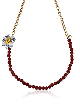 Desigual Collar  Rojo / Dorado