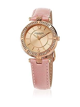 Stührling Original Uhr mit japanischem Quarzuhrwerk Vogue 550 rosa 33 mm