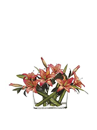 Allstate Floral Casablanca Lily in Vase, Flame