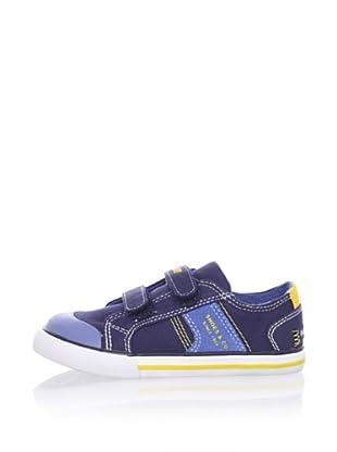 Pablosky Kid's Double-Strap Sneaker (Navy blue)
