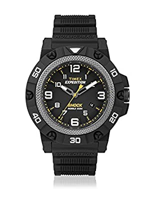 TIMEX Reloj de cuarzo Man Expedition Field Shock Negro 46 mm
