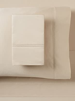 Sutton Place 1000 TC Double Hemstitch Sheet Set (Bisque)