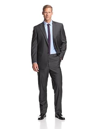 Canali Men's 2-Button Suit (Charcoal)