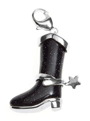 Luxenter CC106 - Charm Couboy Boots de plata