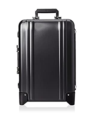 ZERO Halliburton Classic Aluminum Carry On 2-Wheel Travel Case, Black