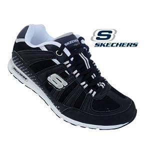 Skechers Women's Sports Shoe 12247-Black Silver