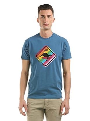 Hot Buttered Camiseta Manga Corta Rainbow