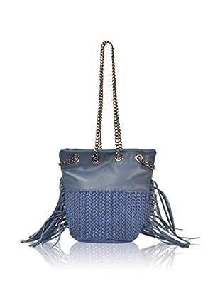 Carla Belotti Bolso saco Handbag Lauren Dark Blue
