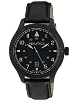 Nautica Analog Black Dial Men's Watch  - NTA11107G