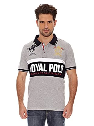 Geographical Norway Polo Manga Corta Kaxi Ss Men 402 (Gris)