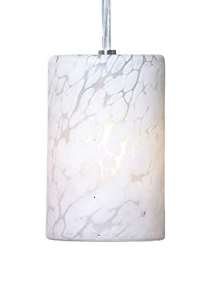 Arttex Spring Pendant, White with White Spots