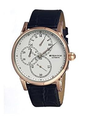 Heritor Automatic Uhr Thomson Herhr1103 schwarz 46  mm