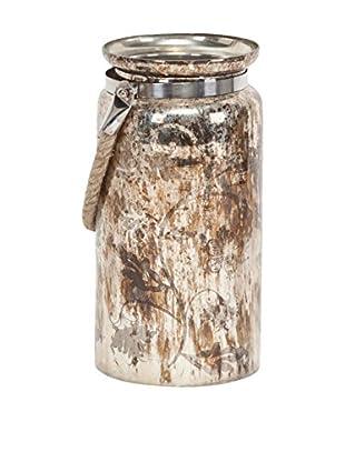 Mercana Mercury Glass Vase, Tan