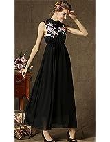 OnlyUrs Elegant Fashion Sleeveless Long Dress For Women