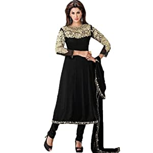 Black Zari Work Salwar Suit