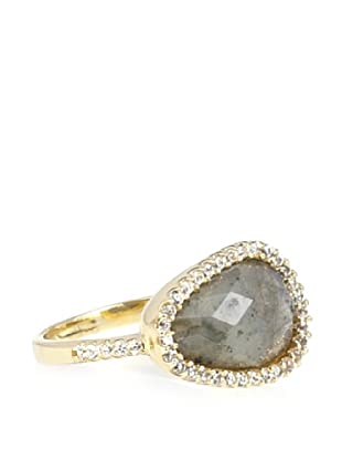 Melanie Auld Pavé Labradorite Natural Ring