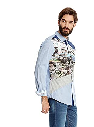 Desigual Camisa Hombre Shirt Mustang