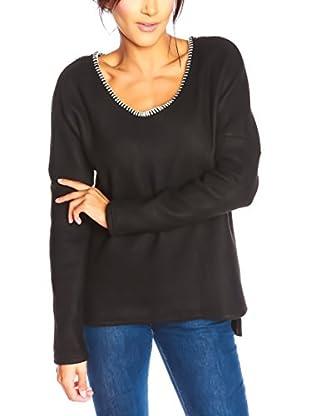 Special Coat Sweatshirt Pink schwarz L
