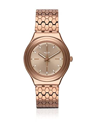 Swatch Reloj de cuarzo Unisex Bronzilla  37.4 mm