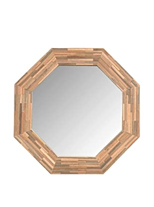 Jeffan Large Rosario Wood-Framed Mirror