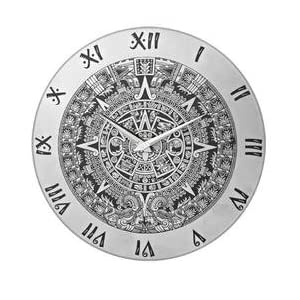 Home & You Wall Clock Aztec Round(4635)