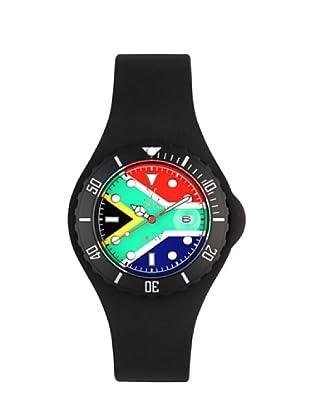 ToyWatch JYF09SA - Reloj Unisex movimiento de Cuarzo con correa de caucho bandera