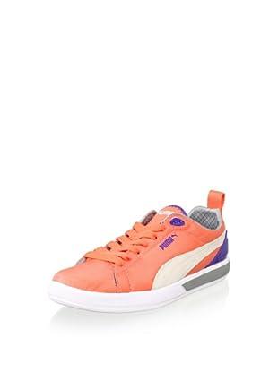 PUMA Women's Future Suede Lite Sneaker (Fluo Peach/Liberty B)