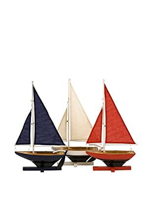 Set of 3 Forza Sailing Fleet Models